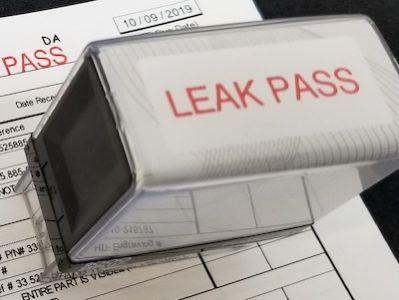 faucet leak test high tech finishing houston texas