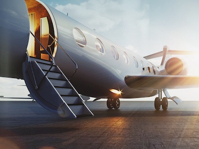Take a peek inside the latest private jet interior design trends to help owners win at business